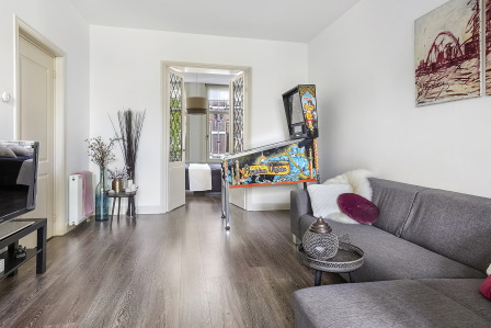 Huiskamer na verkoopstyling