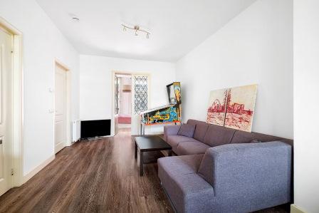 Huiskamer voor verkoopstyling